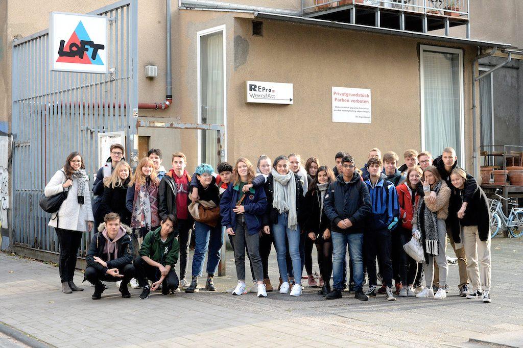 Gesamtschule Rodenkirchen im Loft Foto (c) Gerhard Richter