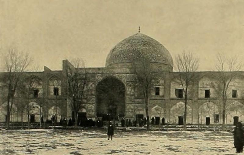 Moschee in Isfahan Denkmäler persischer Baukunst