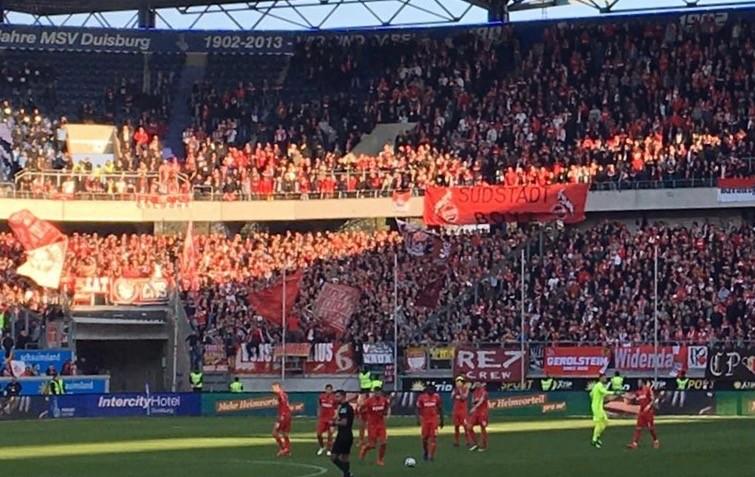 1.FC Köln beim MSV Foto(c) Velti