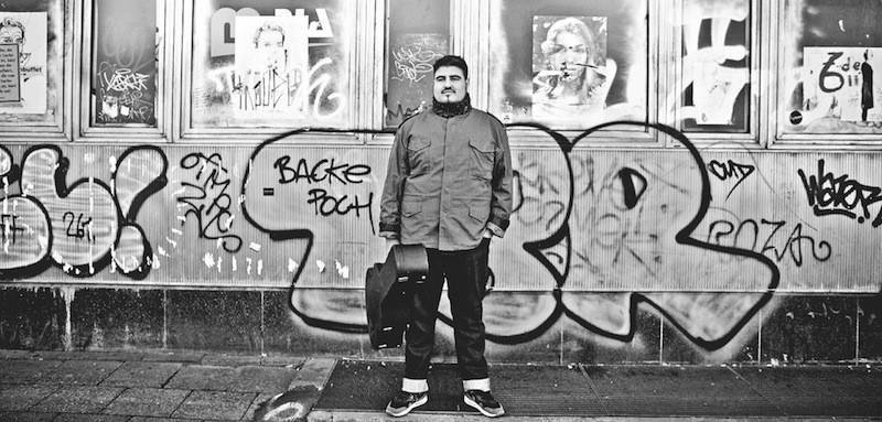 Georg auf Lieder Album Alexanderplatz