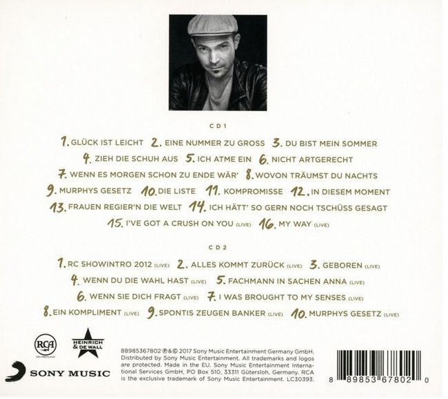 Doppelalbum CD Cicero