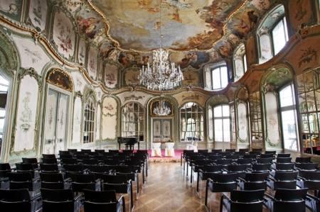 Jazz Festival im schönsten Rokokosaal am Rhein