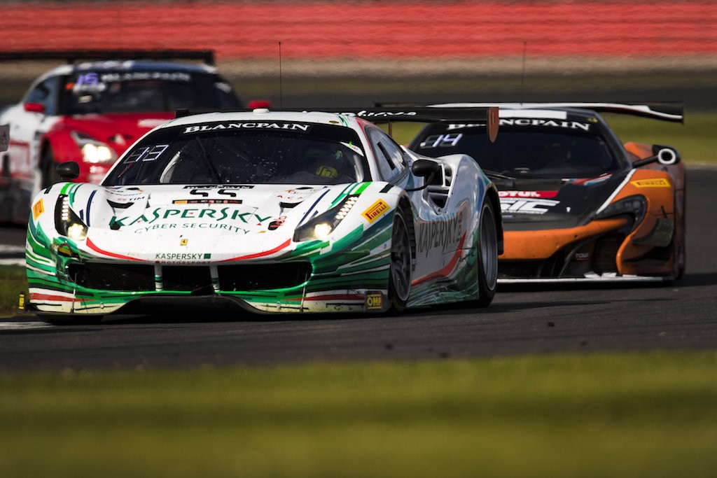 2017 Blancpain GT Series. Silverstone Silverstone, England 12th - 14th April 2017. Photo: Drew Gibson.
