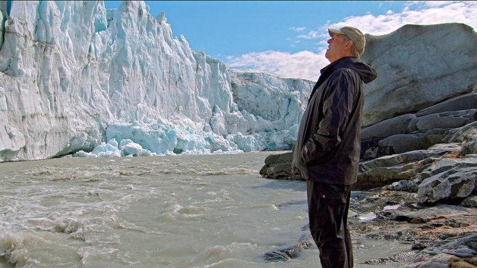 Nirgendwo sieht Al Gore die Zeichen der globalen Erwärmung so drastisch wie am Fuß schmelzender Gletscher. Foto (c)