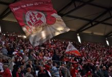 Marcel Risse 1.FC Köln guter Einsatz gegen RBL