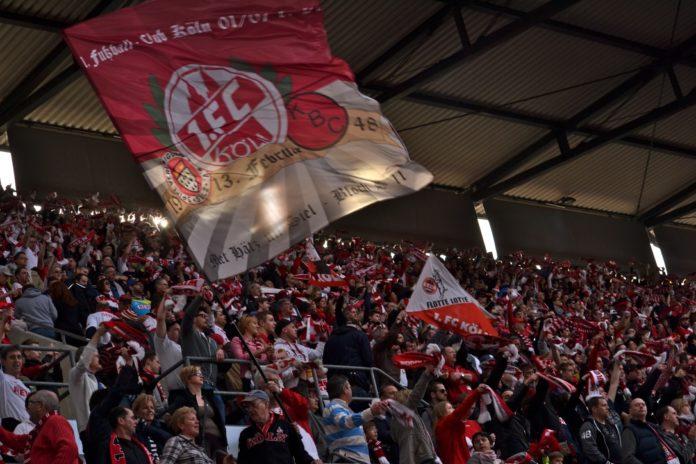 1.FC Köln 40 000 geben ihr Bestes. Guter Einsatz gegen Greuter Fürth