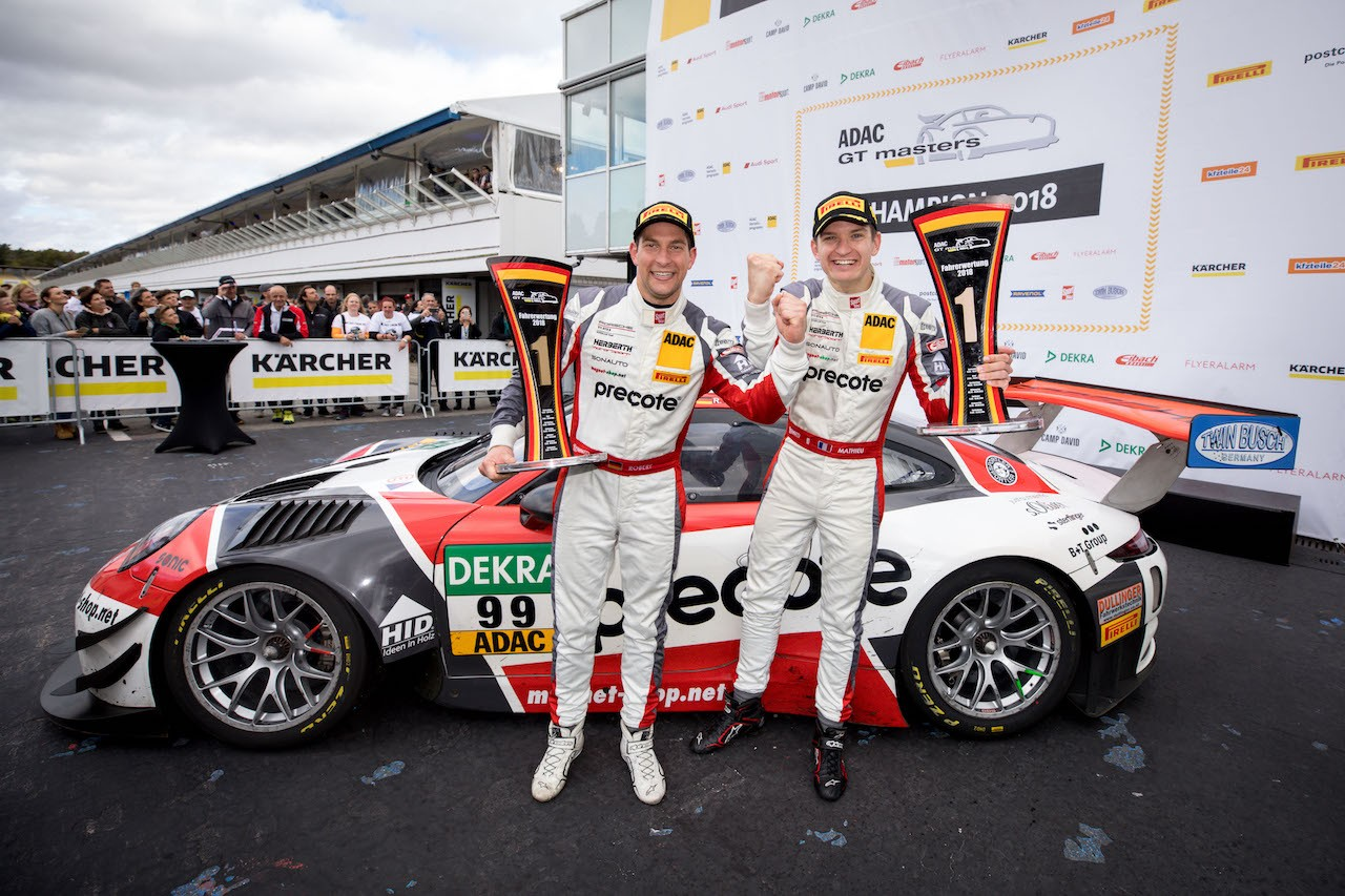 Robert Renauer (D), Mathieu Jaminet (F), Precote Herberth Motorsport Foto (c) ADAC GTMASTERS