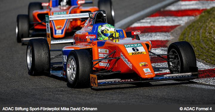 ADAC Stiftung Sport-Förderpilot Mike David Ortman Formel4