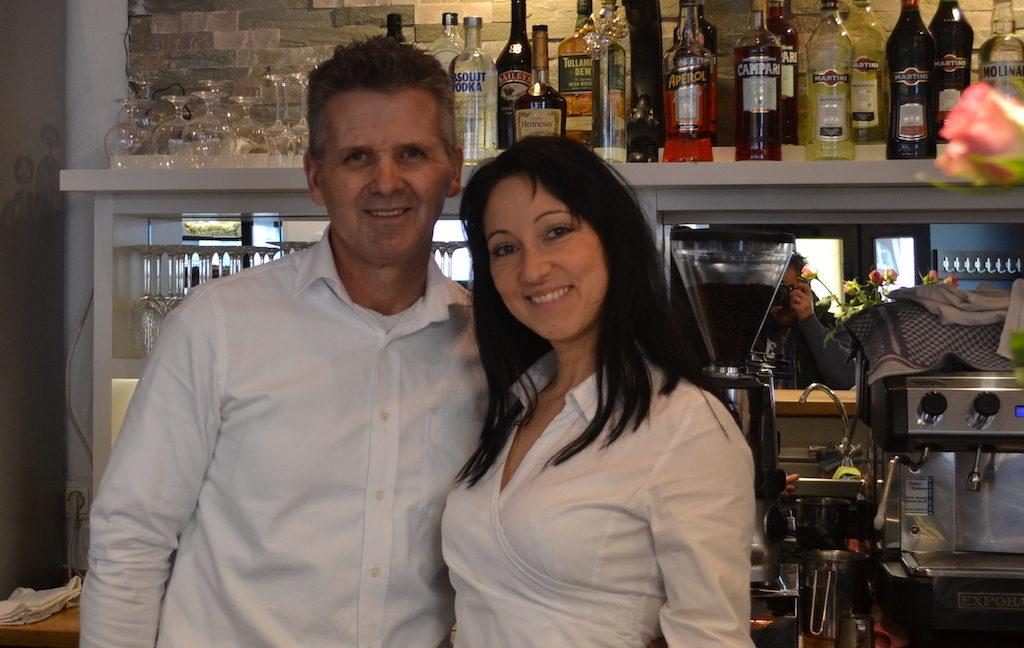 Monika und Nico die Inhaber vom Bracera Restaurant
