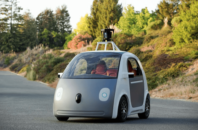Foto by Google the self driving car