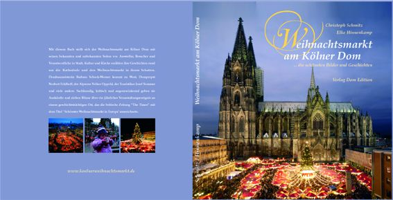 Das Buch 15 Jahre Weihnachtsmarkt am Kölner Dom