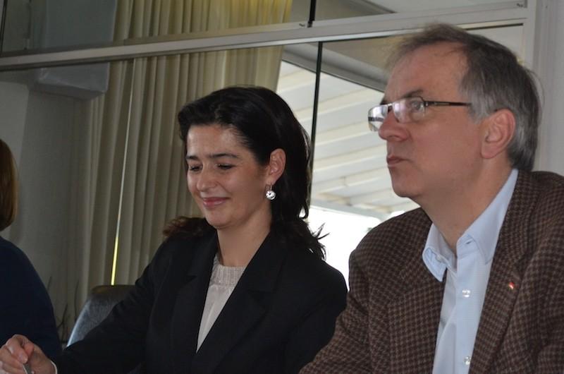 CDU Alexandra Wengersky und Heribert Hirte
