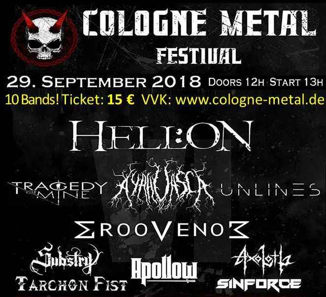 Cologne Metal 2018