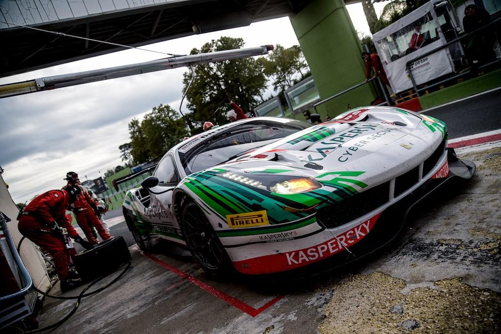 Ferrari 488GT Kaspersky Motorsport