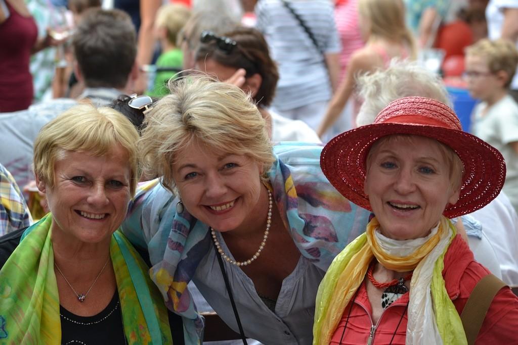 Beste Laune bei den Rodenkirchener Sommertagen 2015