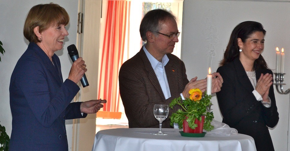 v.l.n.r Henriette Reker, Heribert Hirte,Alexandra von Wengersky