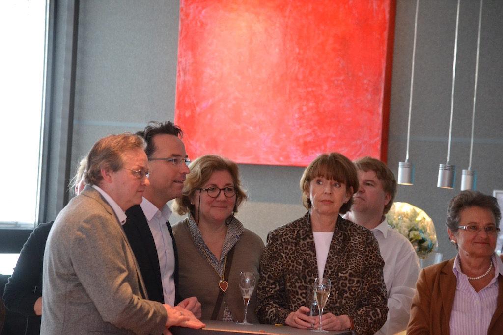 Henriette Reker Kölns OB besucht die Kunstmeile Rodenkirchen