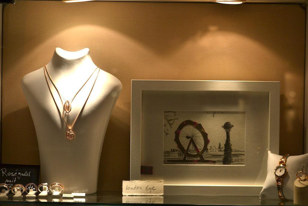 London Eye Grafik bei Juwelier Behrendt