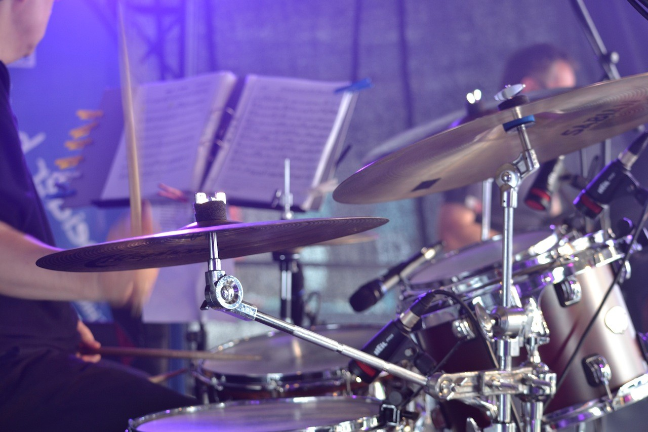 Jazz Musik Drummer