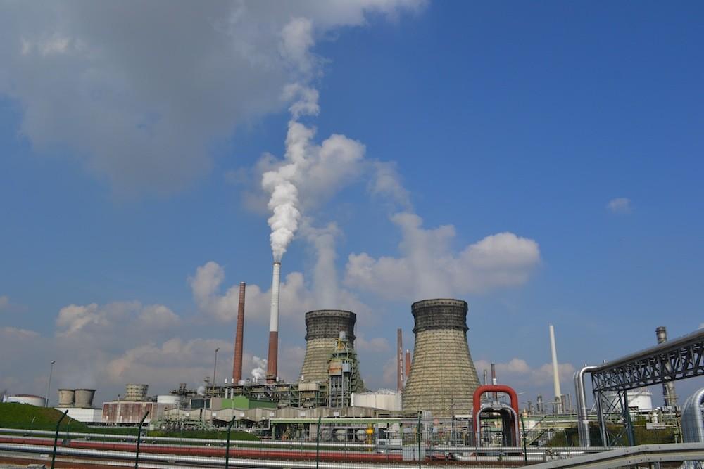 Rauchende Schlote Industriewelt
