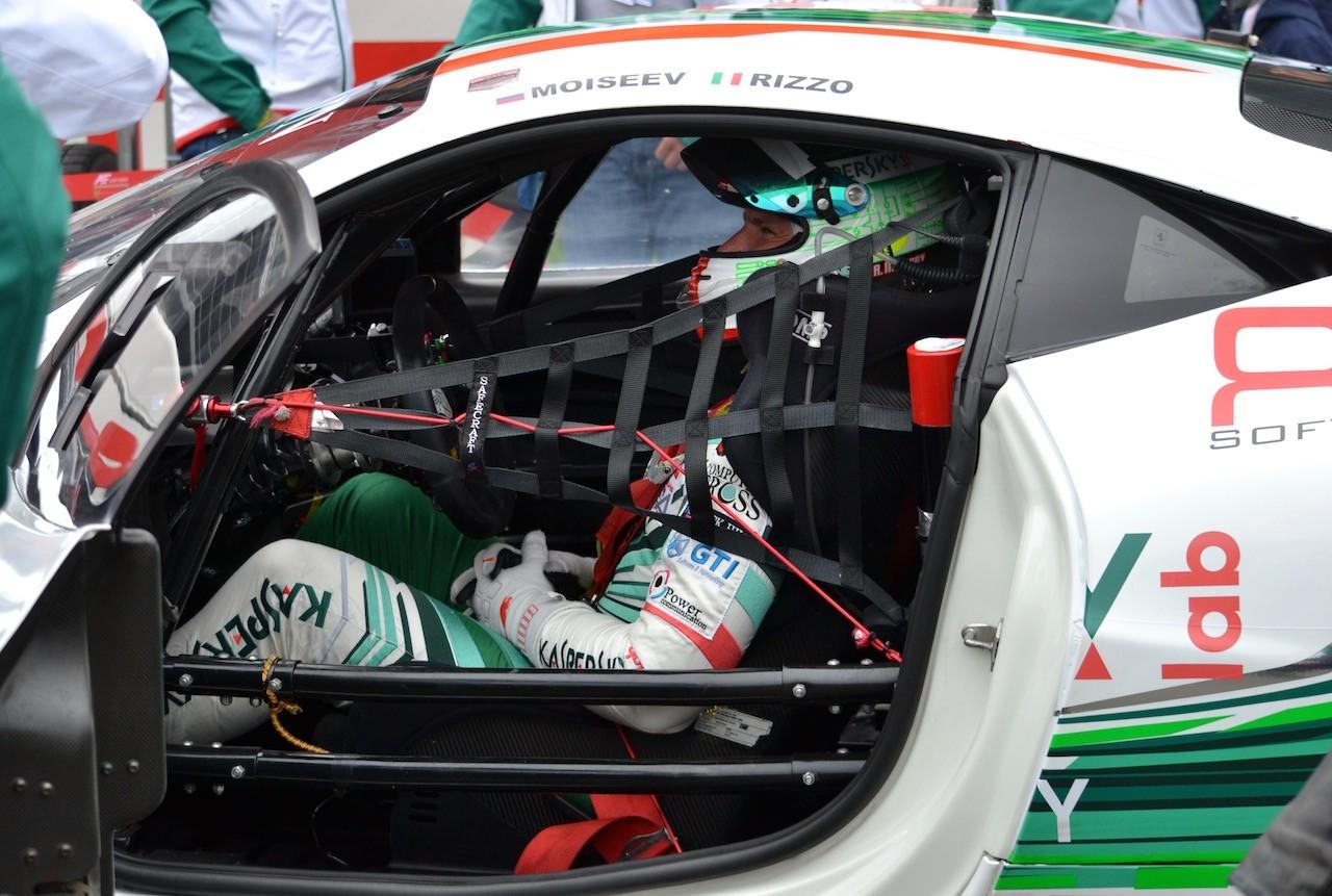 Alexander Moiseev im Kaspersky Ferrari