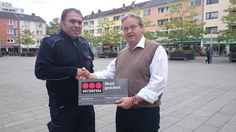 Herr Göycali Securitas und Wolfgang Behrenst AG Rodenkirchen
