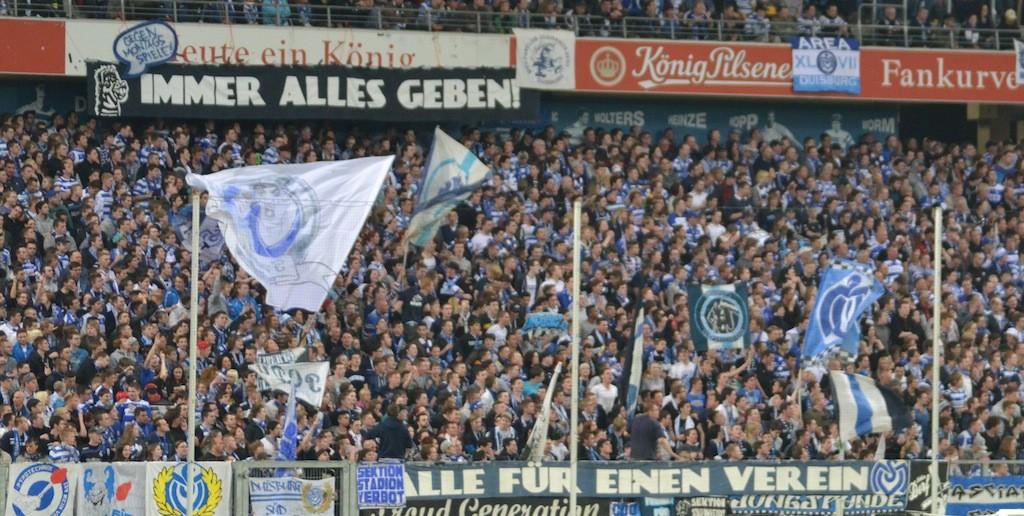 DFP Pokal Köln gegen MSV