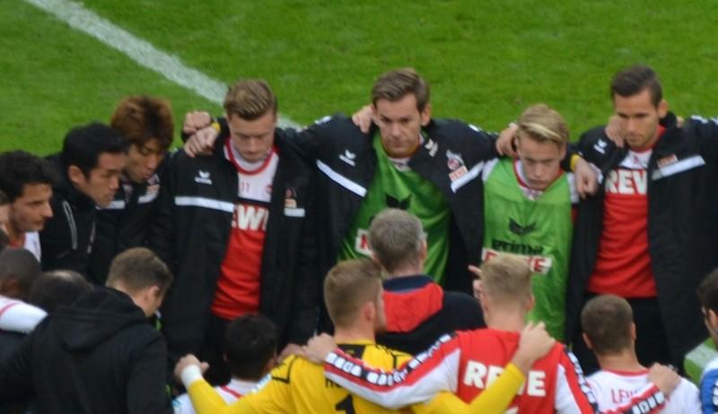 FC Teamkreis nach dem Spiel