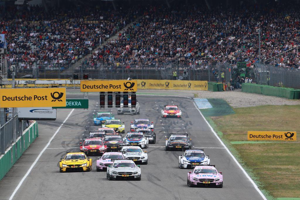 Motorsports: DTM race Hockenheim, Saison 2017 - 1. Event Hockenheimring, GER, # 22 Lucas Auer (AUT, HWA AG, Mercedes-AMG C63 DTM)