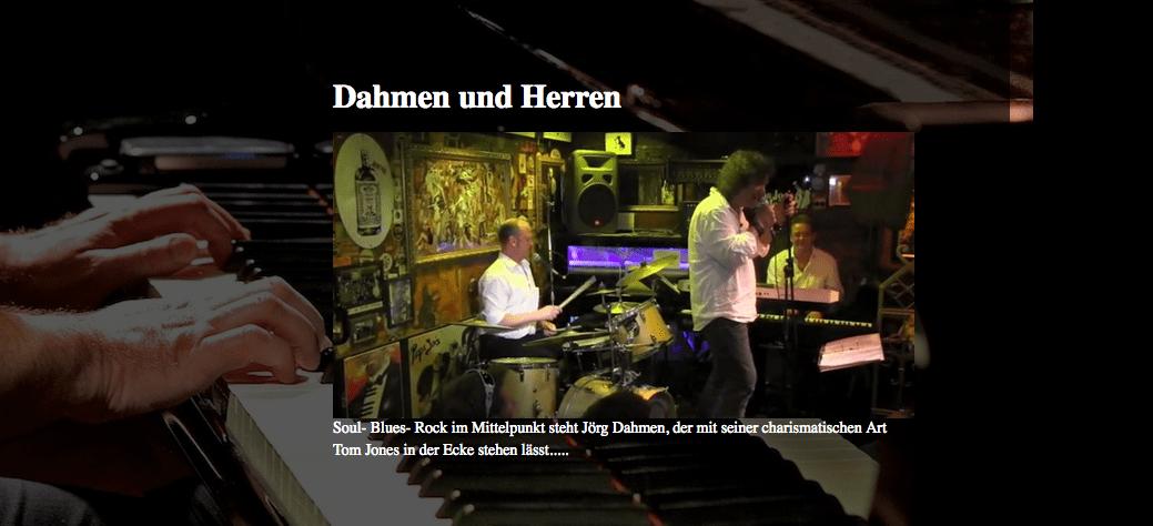 Dahmen und Herren im Streckes Köln