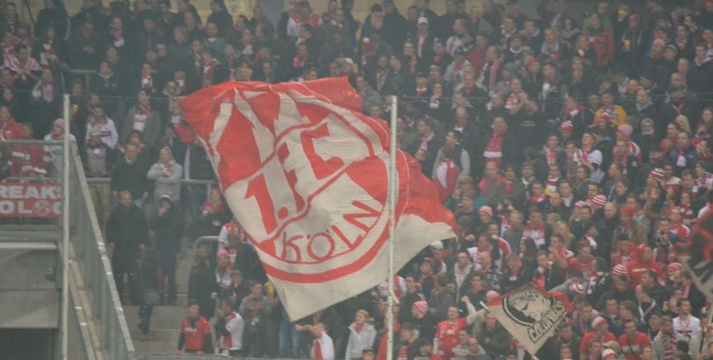 1FC Köln Bundesliga Fantribühne
