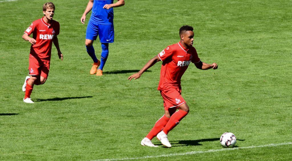 1FC Köln Nikolas Nartey und Vincent Koziello