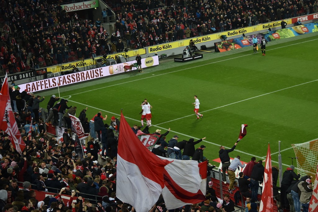 1FC Köln gegen Holstein Kiel