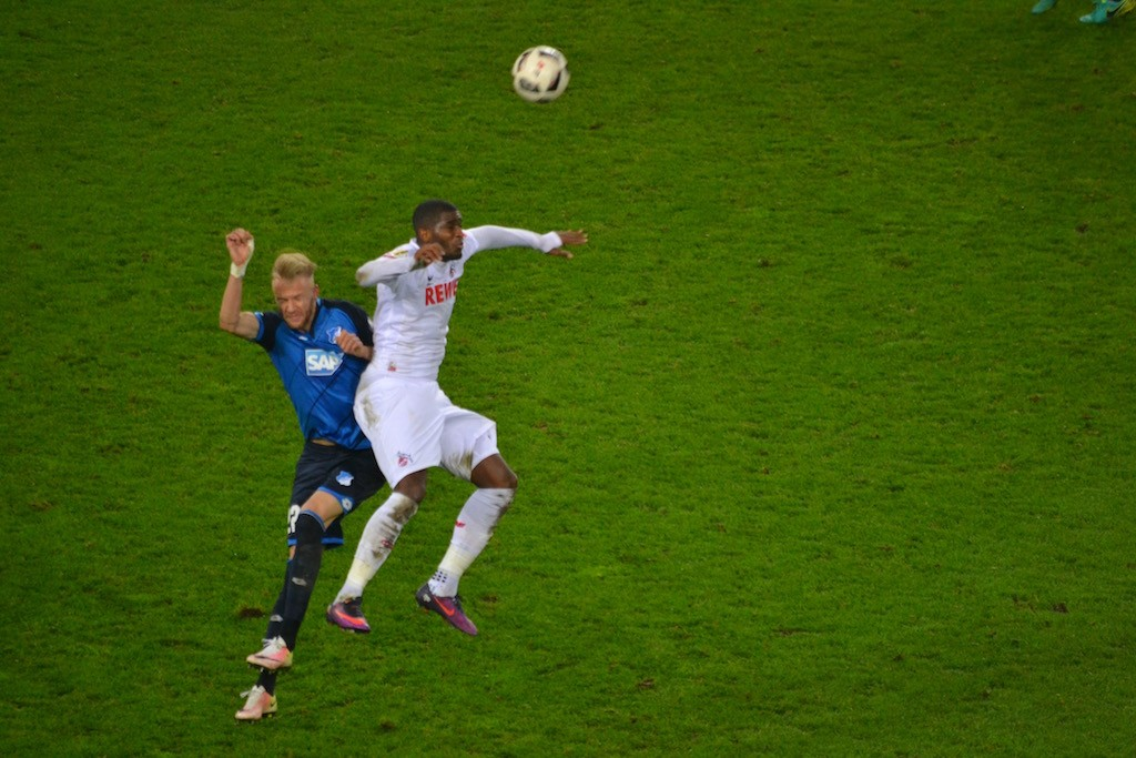 Anthony Modeste goalgetter DFB Pokal and hard fighter for 1.FC Köln