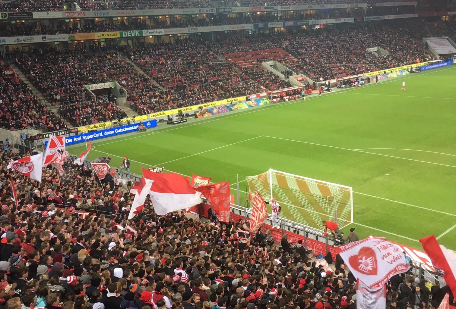 1.FC Köln Heimspiel