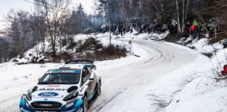 """Schnee oder nicht - bei der WM-Rallye Schweden hat M-Sport Ford die Spitzenplätze im Visier: Die Ford Fiesta WRC-Piloten Esapekka Lappi und Teemu Suninen (Bild) greifen dank ihrer sehr guten Erfolgsbilanz in Schweden mit viel Selbstvertrauen an. Foto(c) """"obs/Ford-Werke GmbH"""""""