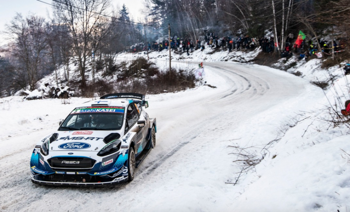 Schnee oder nicht - bei der WM-Rallye Schweden hat M-Sport Ford die Spitzenplätze im Visier: Die Ford Fiesta WRC-Piloten Esapekka Lappi und Teemu Suninen (Bild) greifen dank ihrer sehr guten Erfolgsbilanz in Schweden mit viel Selbstvertrauen an. Foto(c)