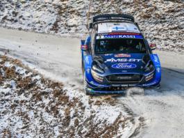 """Das Team setzt mit Esapekka Lappi (29), Teemu Suninen und Gus Greensmith auf ein besonders junges Fahrertrio Foto(c) """"obs/Ford-Werke GmbH"""""""