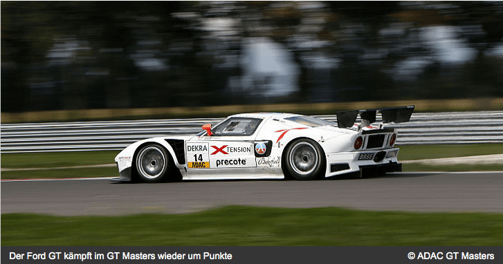 Ford GT-Lambda Performance Team Foto ADAC GT Masters