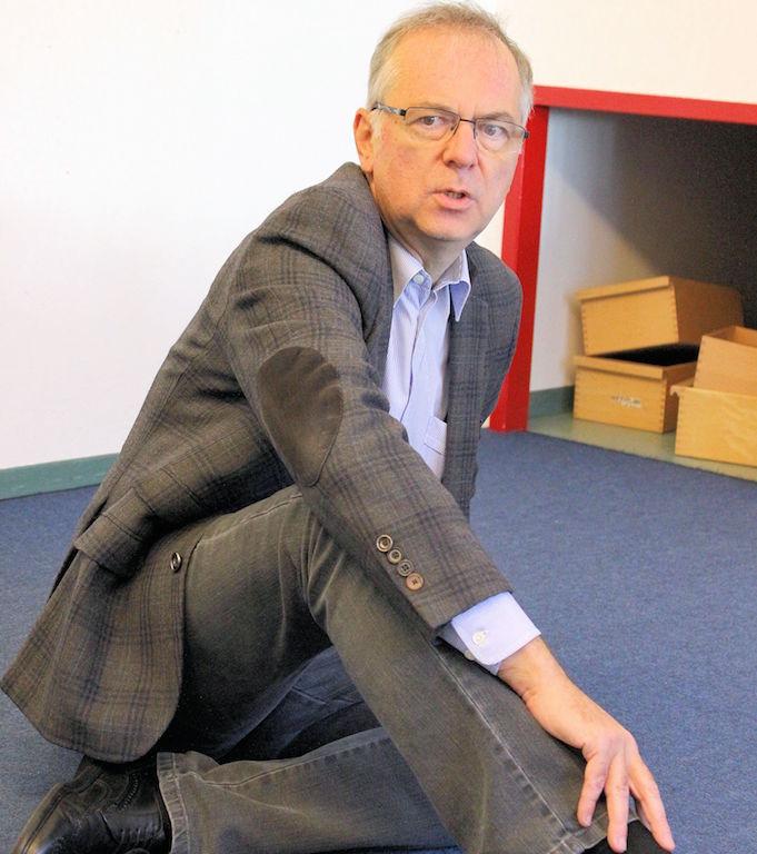 Heribert Hirte CDU im Evangelischen Kindergarten Rondorf