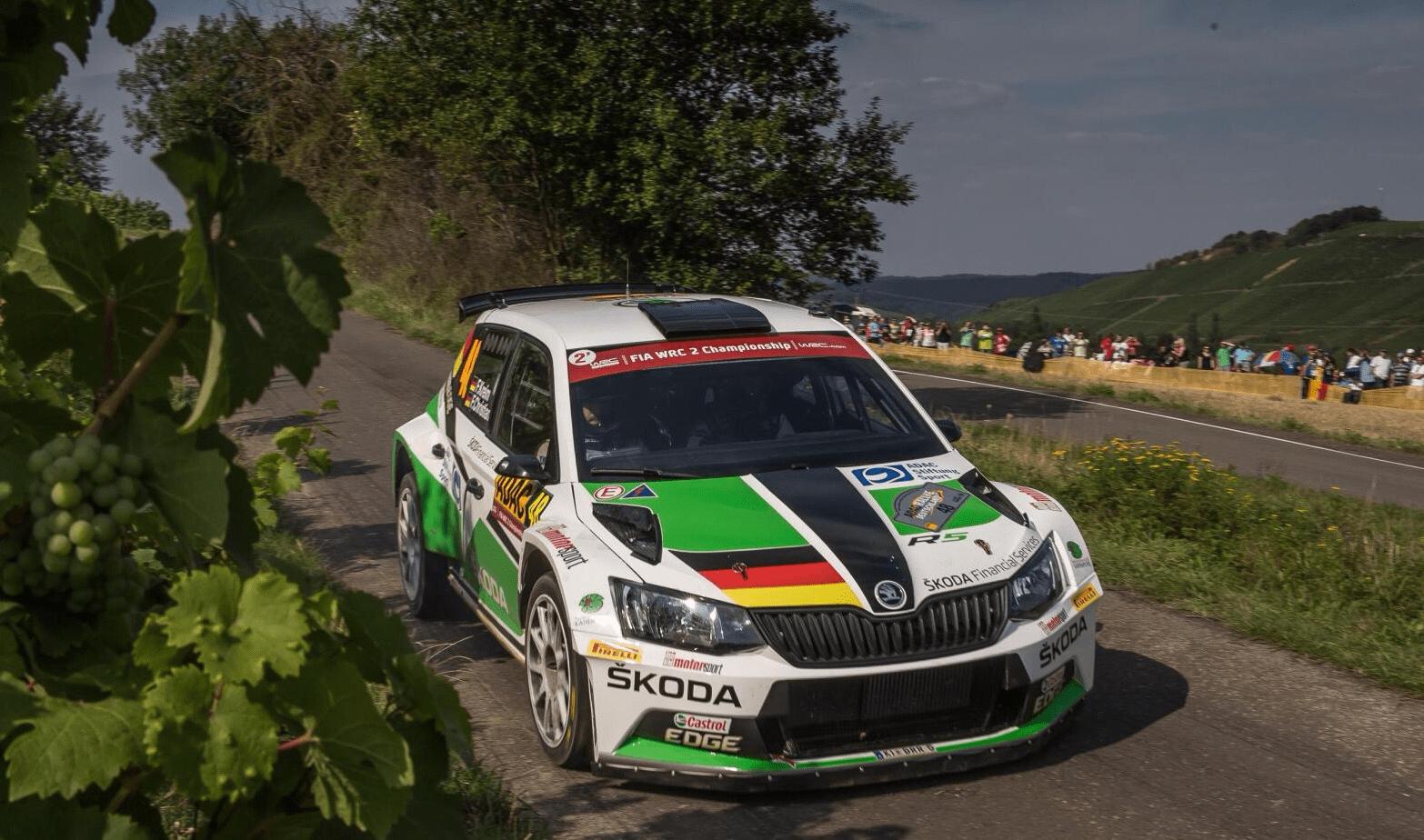 WRC Deutschlandrallye Foto.OBS/Skoda Auto Deutschland