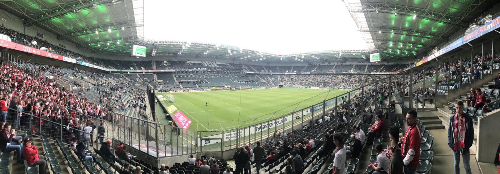 Gladbach Stadionshot von Effzeh Fan @2smart4U :-)
