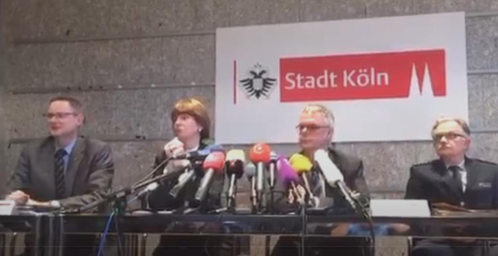 PK Stadt Köln und Polizei Köln OB Reker
