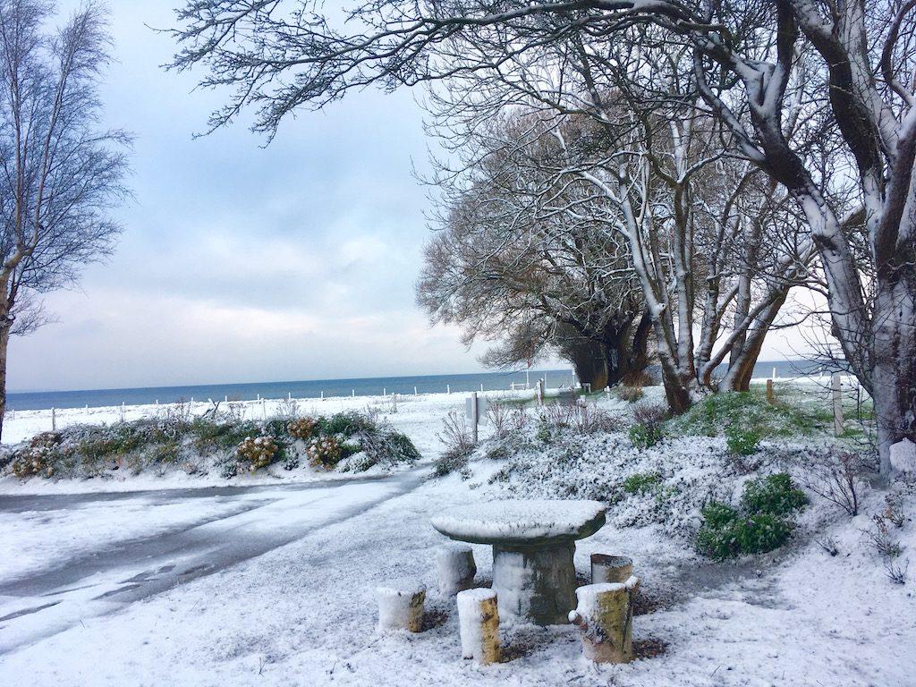 Winter an der Ostsee Nieby