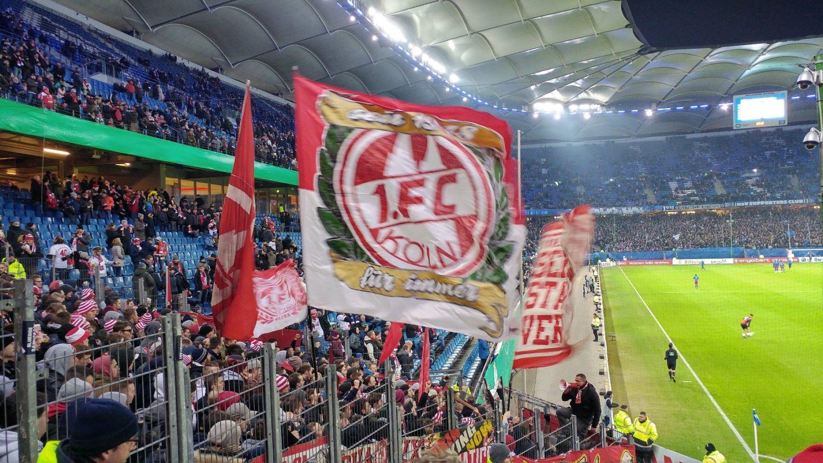 DFB Pokal HSV 1.FC Köln Foto von FC Fan Holger @Hanningkannix