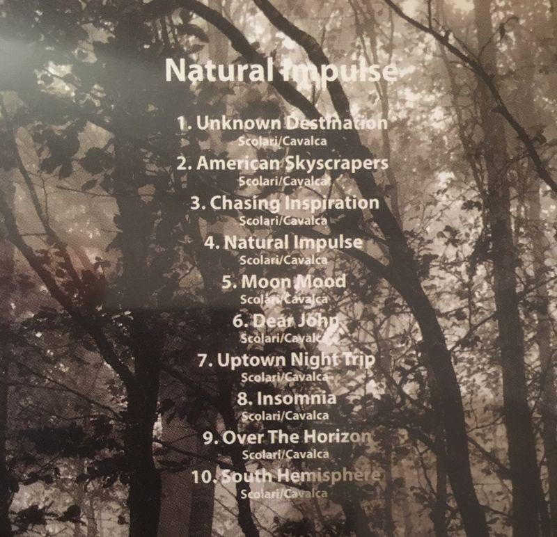 """CD """"Natural Impulse"""" Claudio Scolari"""