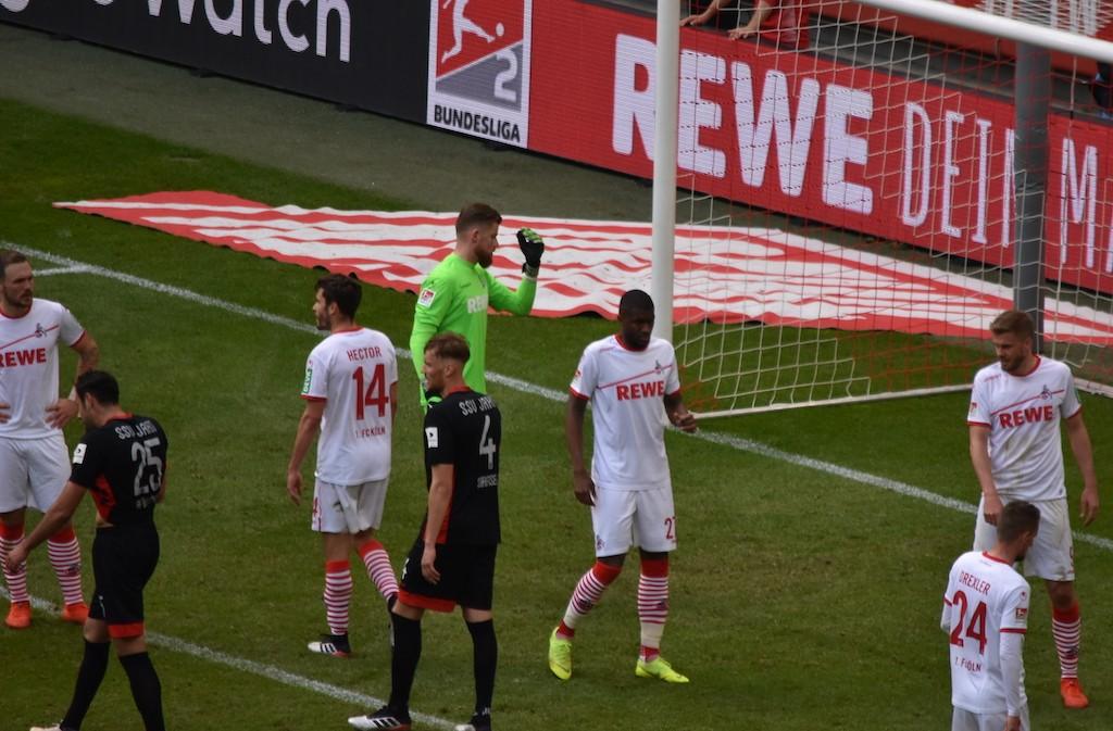 1.FC Köln vs SV Jahn Regensburg
