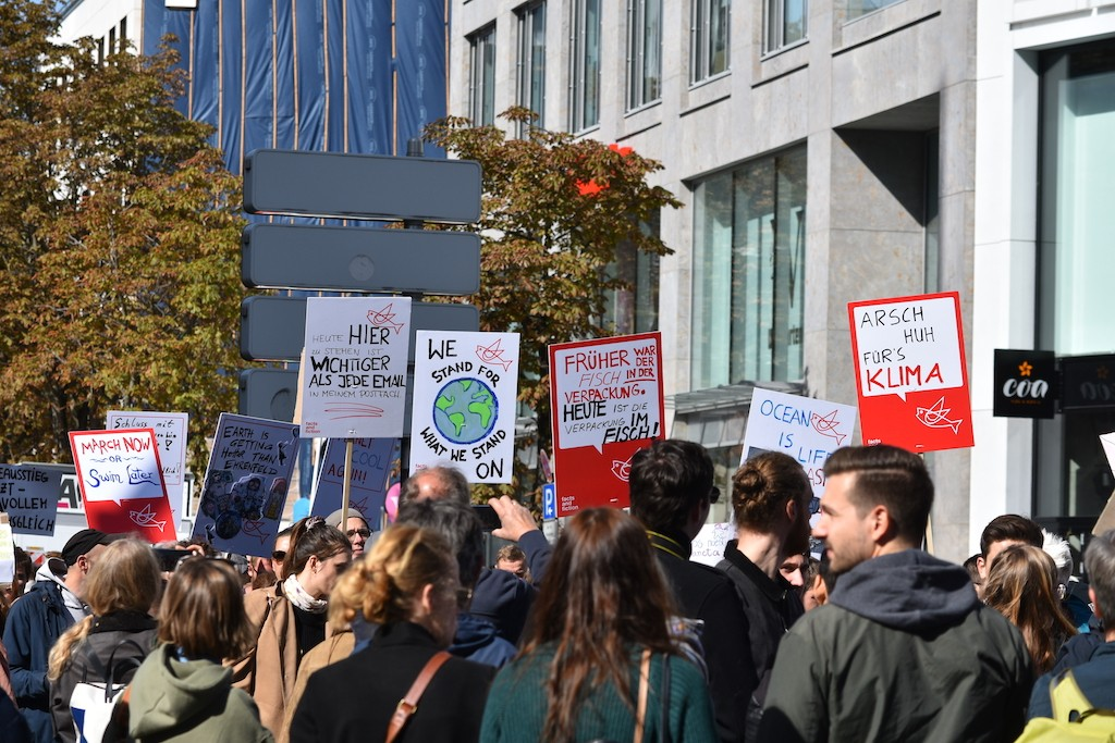 Fridyas for Future in Köln Globalclimatestrike