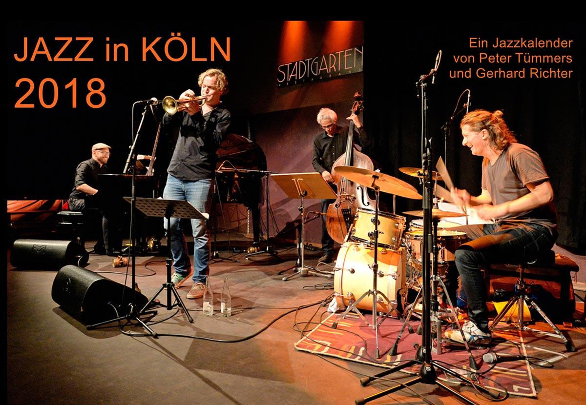 Jazz-Köln-Kalender-2018 von Gerhard Richter