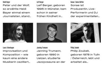 "Jazz-Exzellenzförderung ""NICA artist development"""